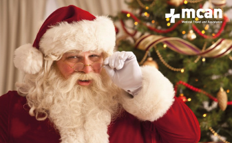 santa clause and hair transplant in Turkey | MCAN Health Blog