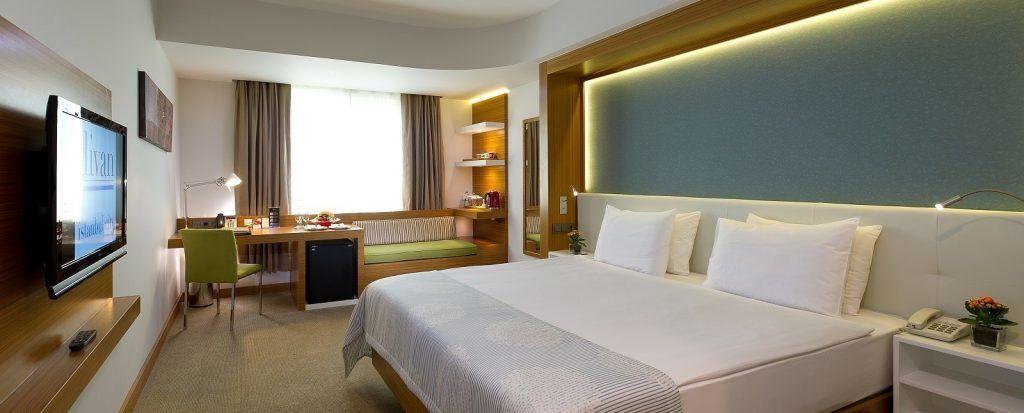 MCAN Health Hotel Room
