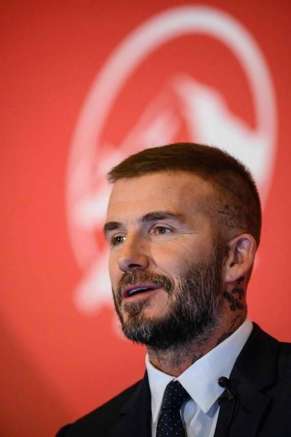 David Beckham's Hair Transplant