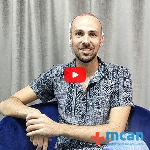 Hair Transplant Turkey - Video Review MCAN Health