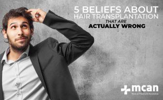 5 false beliefs on hair transplantation