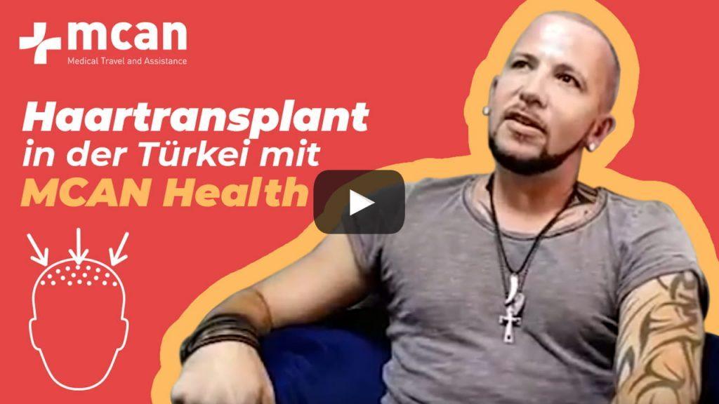 Haartransplant in der Türkei - Reise von Marcus