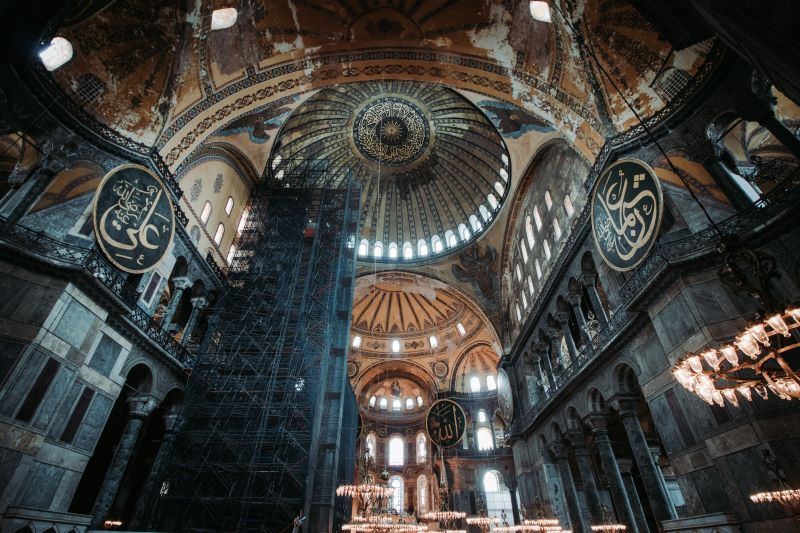 Santa Sofía en Estambul visita