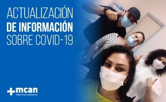 Información actualizada sobre Coronavirus