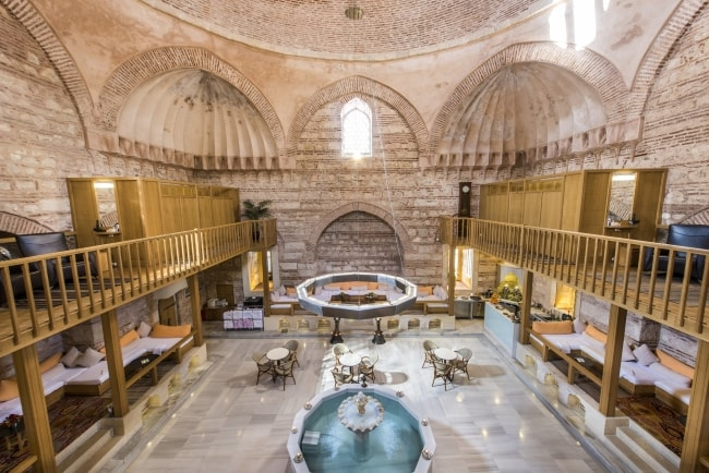 Baños turcos en Estambul: Kilic Pasa Hamam