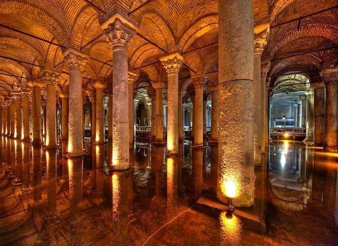 Cisterna Basilica | MCAN Health trasplante capilar Turquía