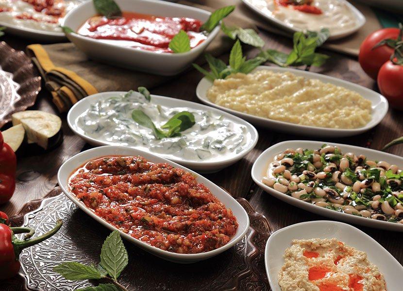 Mezes o tapas turcas | MCAN Health trasplante capilar Turquía