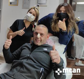 hair transplantation istanbul mcan health reviews
