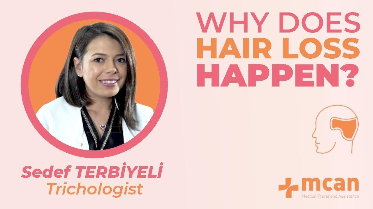 Why hair loss happens?