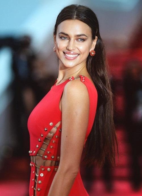 Injerto capilar en mujeres famosas: Irina Shayk